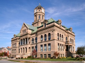 Auglaize County Courthouse, Wapakoneta, Ohio